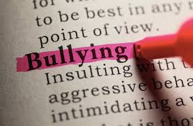 Bullying definition highlighted