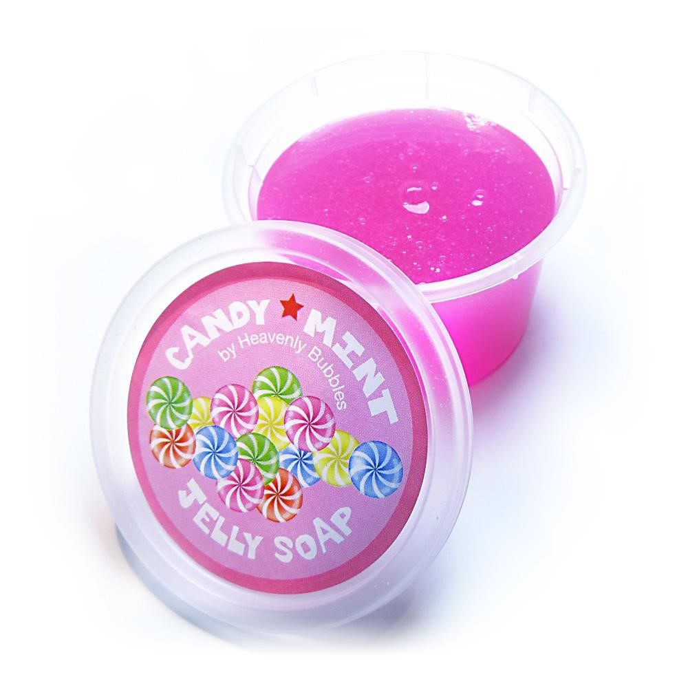 Candy Mint Handmade Jelly Soap