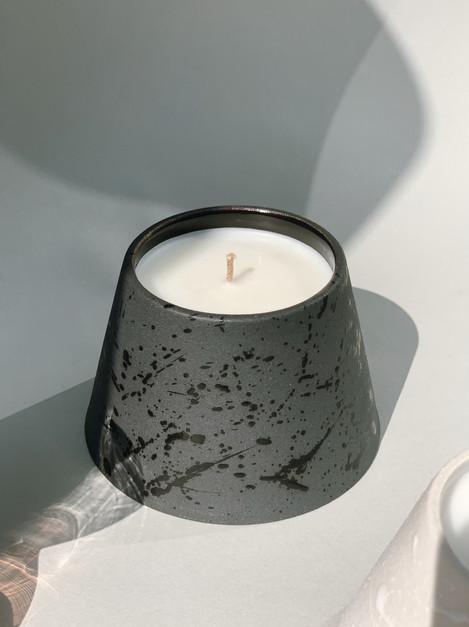 Caramel Tobacco Ceramic Canle Jar