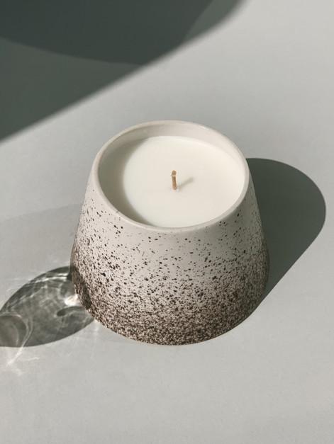 Full City Roasted Ceramic Candle Jar