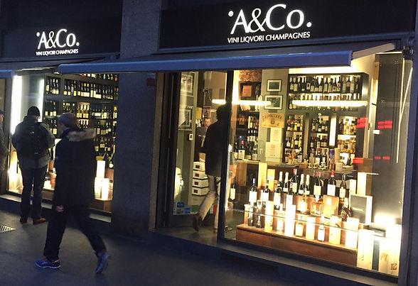 Enoteca A&Co Via pIero Capponi 5 Milano