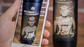 Queste bottiglie di vino parlano grazie alla realtà aumentata.