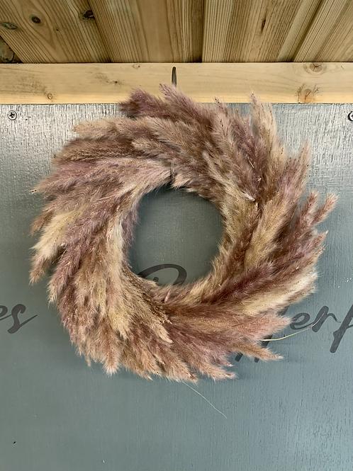 Pampas wreath