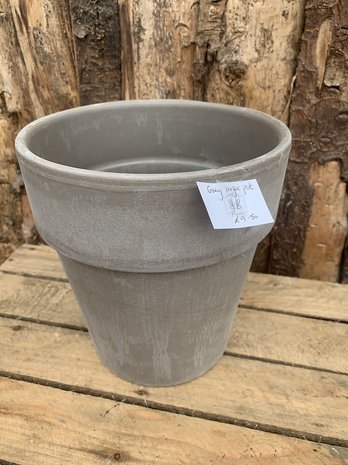 Grey Planter Large