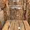 Thumbnail: Tall glass vase