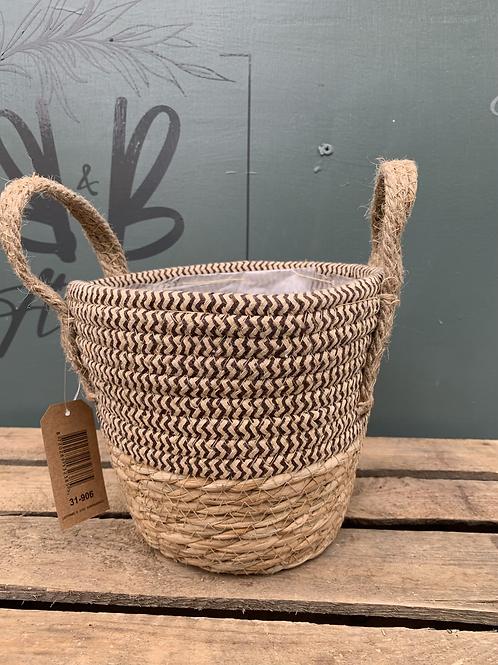Medium Basket Straw Pot