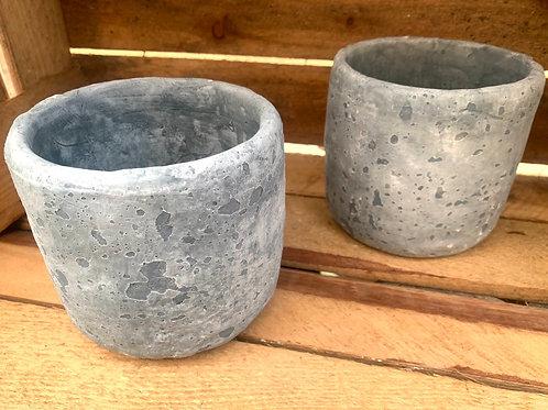 Iron Stone Blue Pot