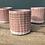 Thumbnail: Small Pink & White Ceramic Pot