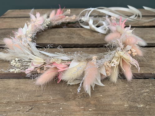 Floral Crown - dried flowers (multiple size & price available)
