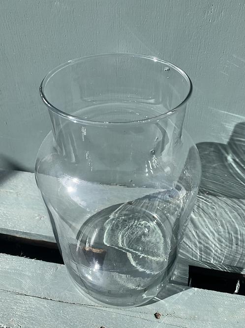 Glass Rouen Vase 30cm