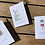 Thumbnail: Wild flower seed message card - 3 options