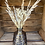 Thumbnail: Neutral dried flowers in coloured vase - multiple colour options