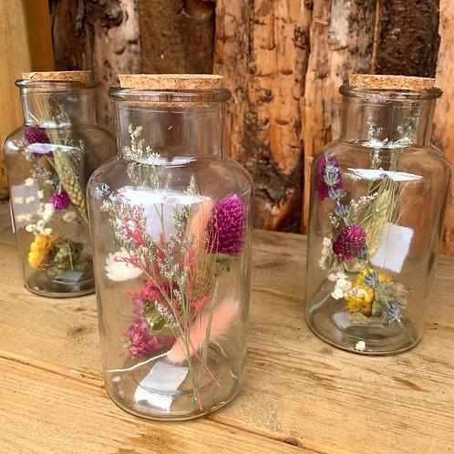 Dried Flower Jars