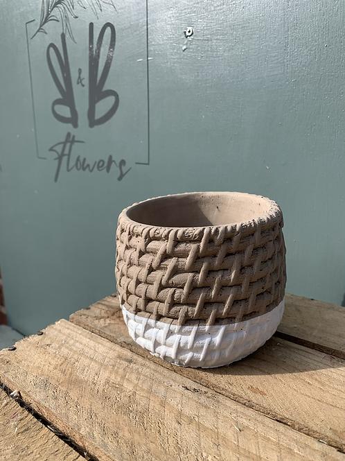 Ceramic Locri Ball Pot