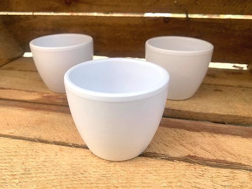 Ceramic Pot White