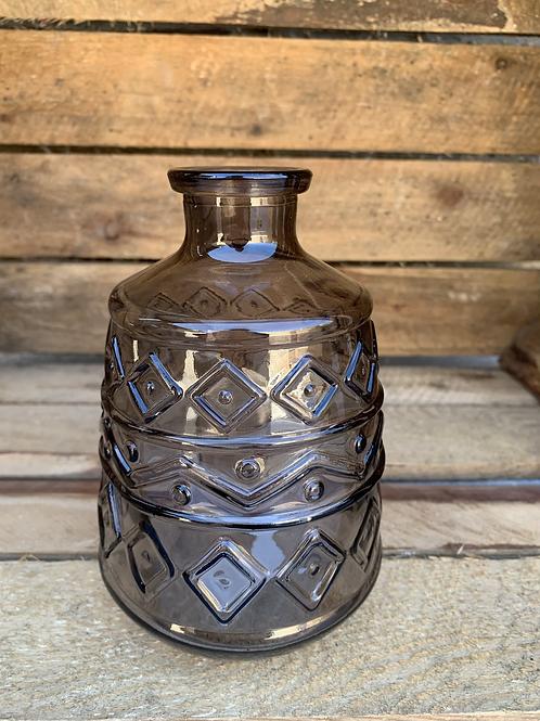 Glass colour bottle