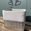 Thumbnail: Grey & Silver Square Pot