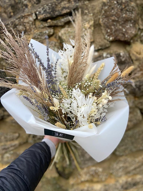 Dried Naturals and Lavender Bouquet - Multiple size/price options