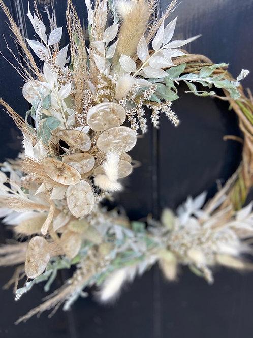 Handmade Dried Natural Wreath