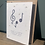 Thumbnail: Wild flower seed message card - 6 options