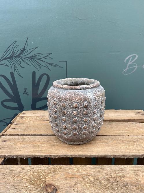 Banggai Bruin Jar Pot