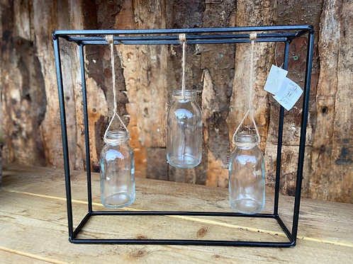 Hanging bottle stand