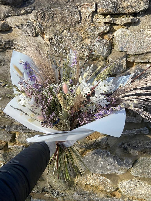 Dried Meadow Themed Bouquet - Multiple size/price options