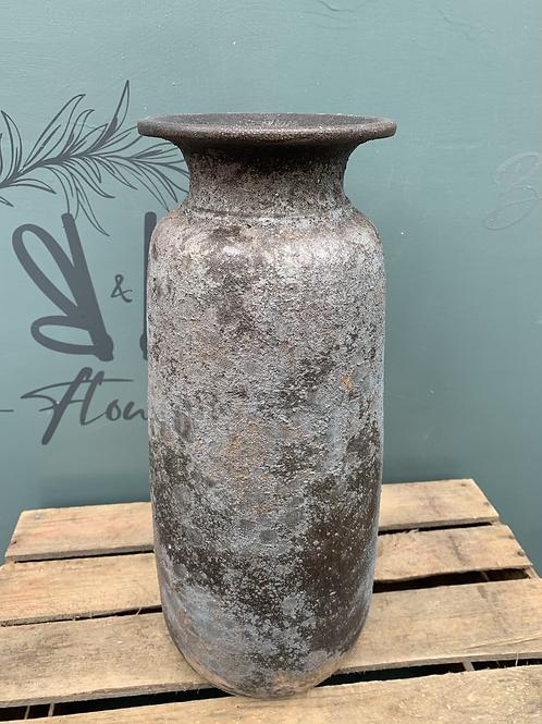 Tall Bali Grey Vase