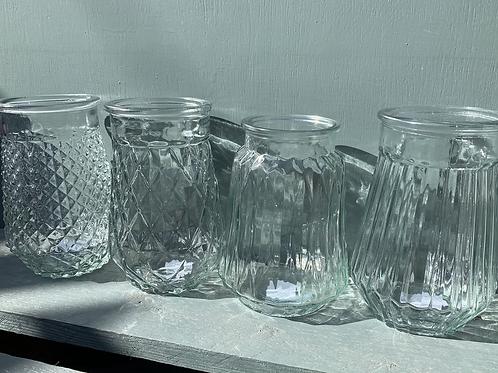 Glass Bouquet Vase - 4 styles