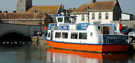 Wareham River ferry, Poole Quay ferries, Greenslade Pleasure Boats
