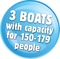 Greenslades have plenty of room on our three pleasure boats