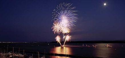 Poole Quay, Fireworks, Poole Quay boat trips,  Greenslade Pleasure boats