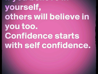 SELF CONFIDENCE - THE SUPERPOWER I'M ACTIVELY WORKING ON IMPROVING