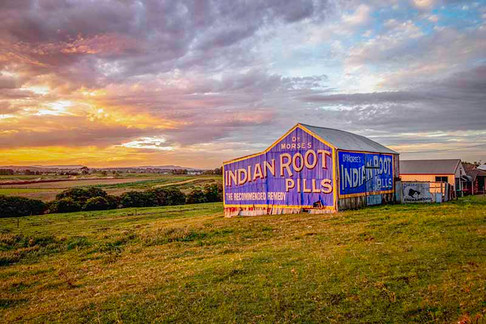 Sunset Over Indian Root Pills