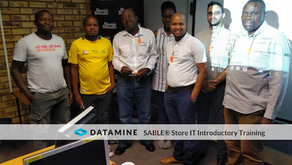 Shaft geologists trained on SABLE® Store IT