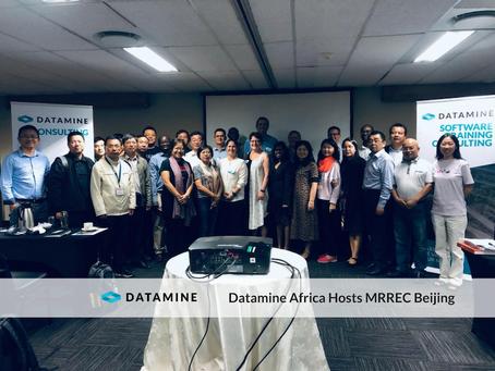Datamine SABLE® Hosts MRREC Beijing