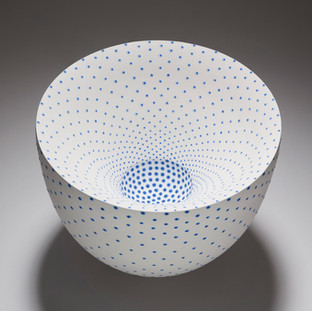 'Vortex' winner of the RDS Established Maker of Excellence,California Gold medal and Ceramics Category Winner