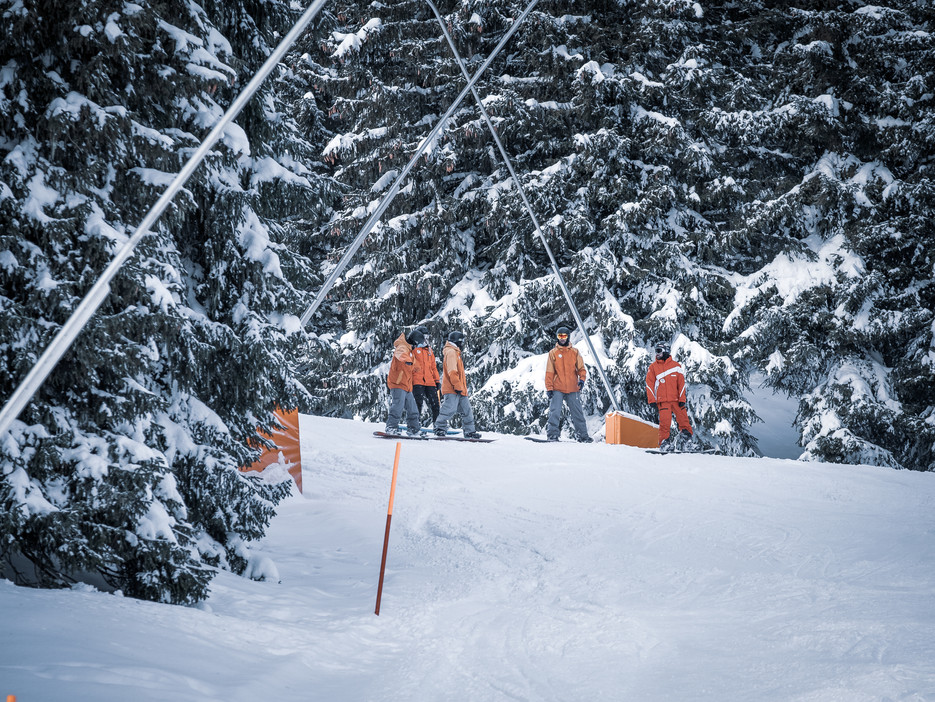 snowboard at winterwonderland