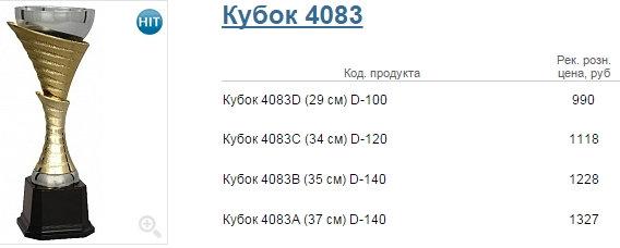 Кубок 4083
