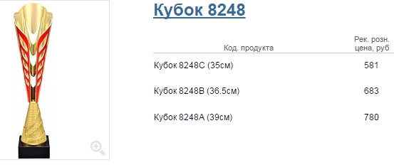 Кубок 8248