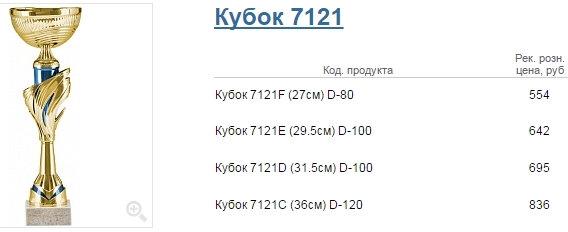 Кубок 7121