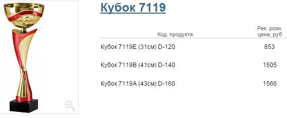 Кубок 7119