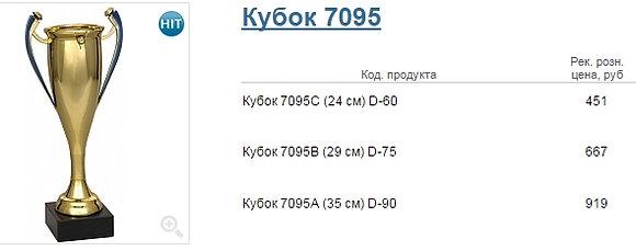 Кубок 7095