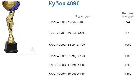 Кубок 4090