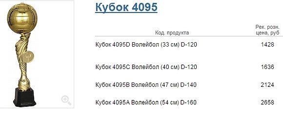 Кубок 4095