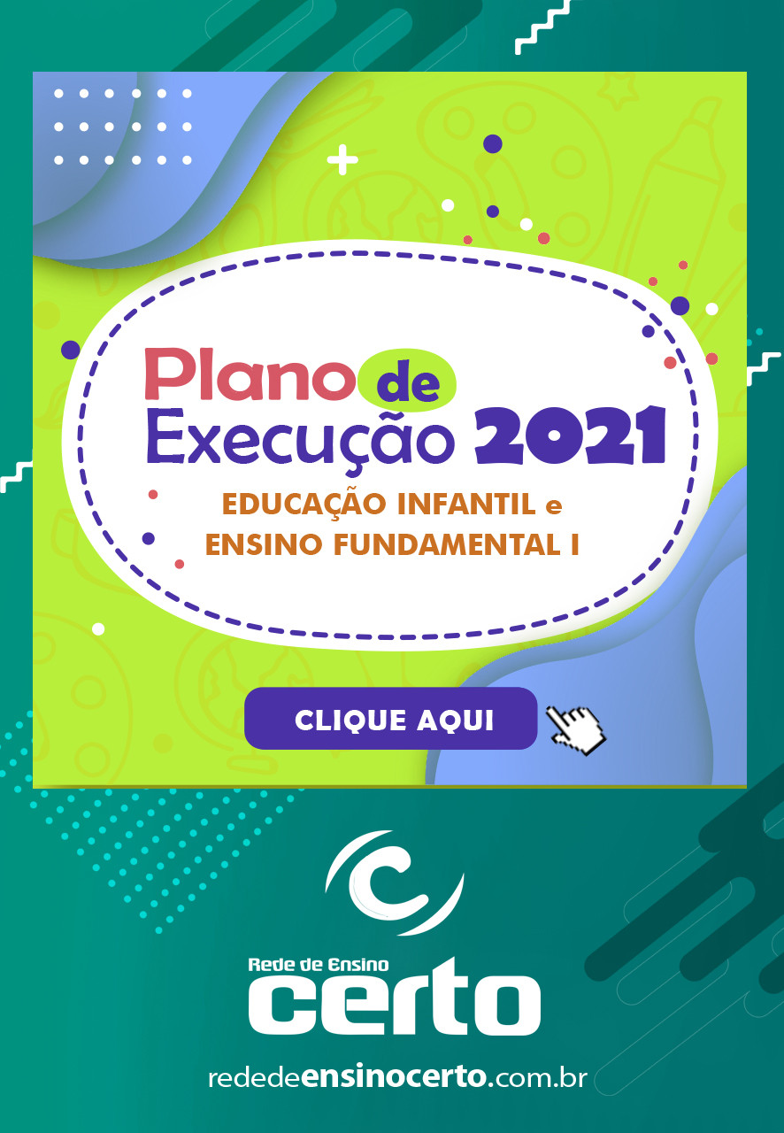 Plano de Execução das Listas de Materiais 2021 - Educação Infantil e Ensino fundamental I