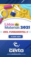 LISTAS DE MATERIAIS 2021 - Ensino Fundamental II