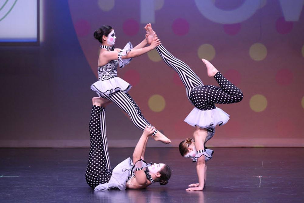 acrobatic dancer indian wedding
