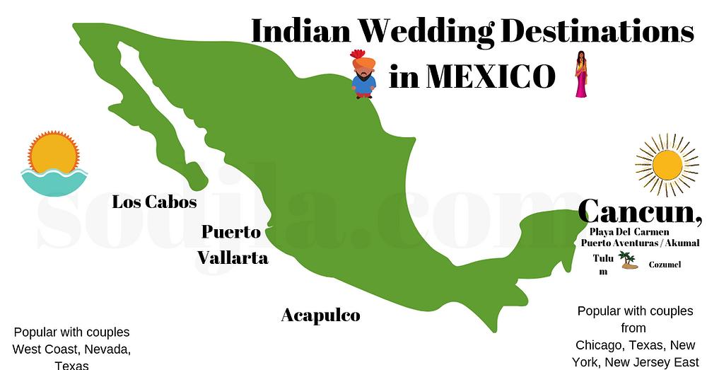 indian wedding mexico resort ideas