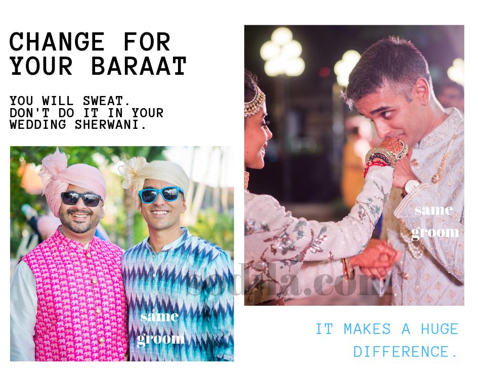 indian wedding baraat mistakes